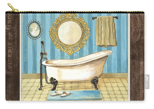 French Bath 1 Carry-all Pouch
