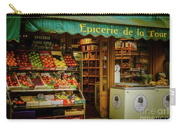 French Groceries Carry-all Pouch