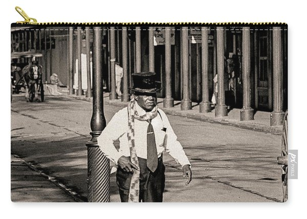 French Quarter As It Once Was Carry-all Pouch