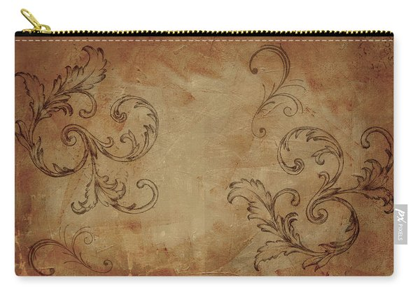 French Scrolls Carry-all Pouch