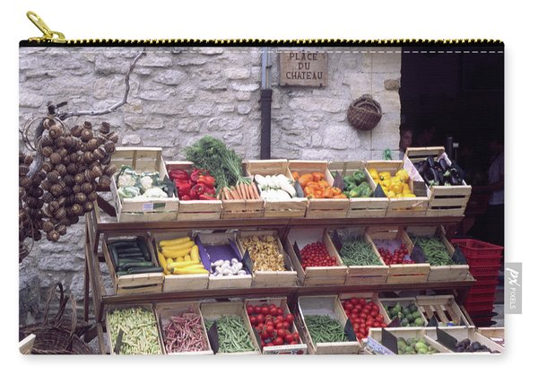 French Vegetable Stand Carry-all Pouch