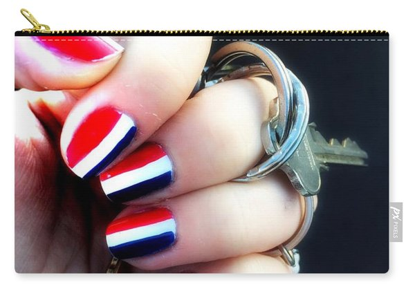 Frenchy Nails Carry-all Pouch