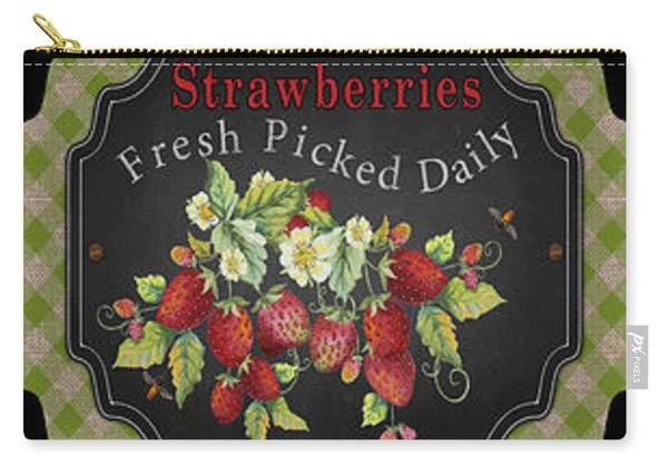 Fresh Fruit Trio--jp3758 Carry-all Pouch