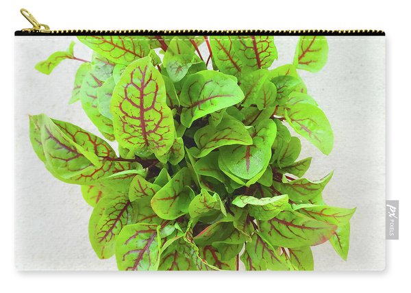 Fresh Green Sorrel Leaves Carry-all Pouch