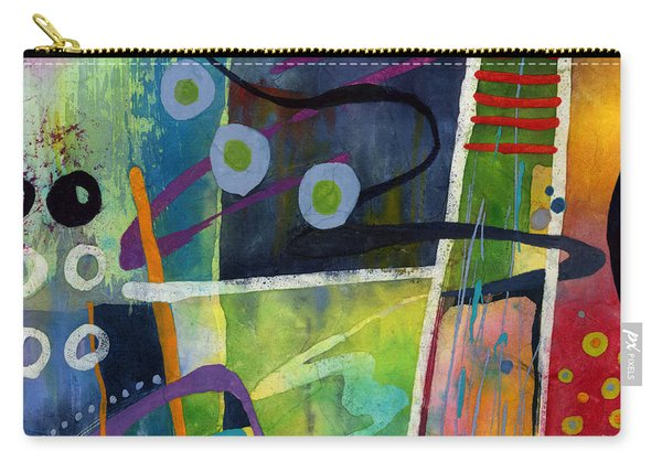 Fresh Jazz In A Square Carry-all Pouch
