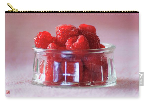 Fresh Raspberries Carry-all Pouch