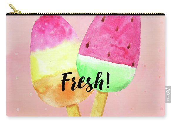 Fresh Summer Refreshing Fruit Popsicles Carry-all Pouch
