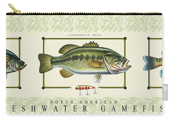 Freshwater Gamefish Carry-all Pouch