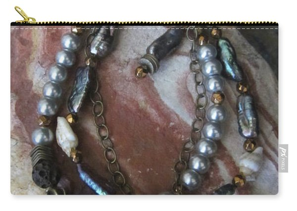 Freshwater Pearls #b003 Carry-all Pouch