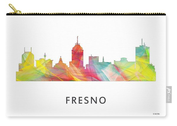 Fresno California Skyline Carry-all Pouch