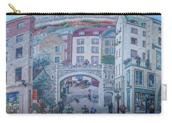 Fresque Des Quebecois Carry-all Pouch