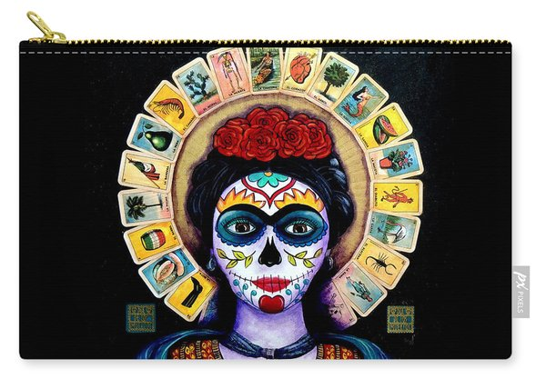 Frida Loteria Carry-all Pouch