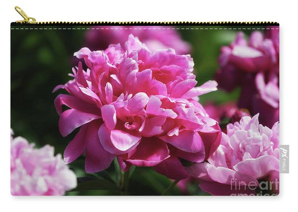Friday Morning Peonies Carry-all Pouch