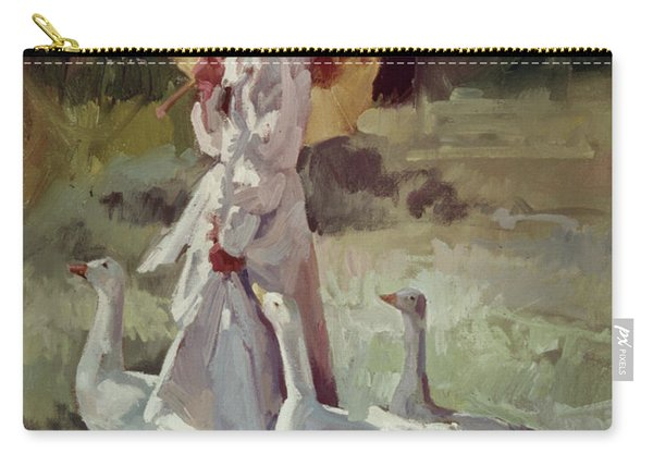 Friendly Flock Carry-all Pouch