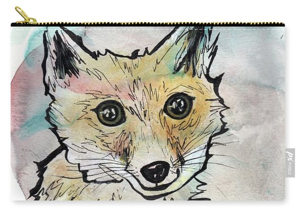 Friendly Fox Carry-all Pouch