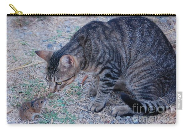 Friends Or Enemies  Carry-all Pouch