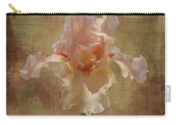 Frilly Iris Carry-all Pouch