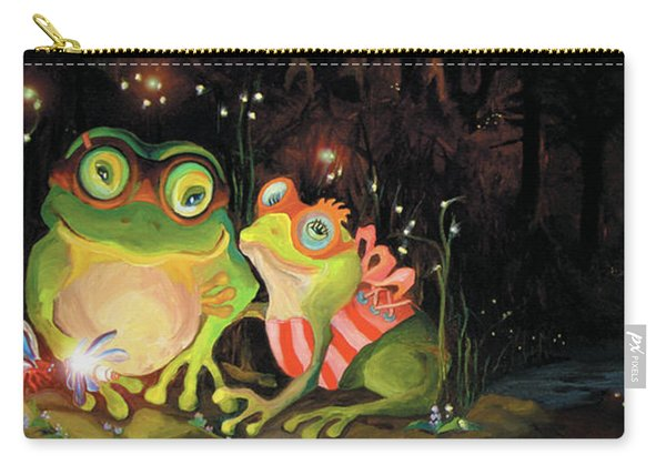 Frogs At Silver Lake Carry-all Pouch