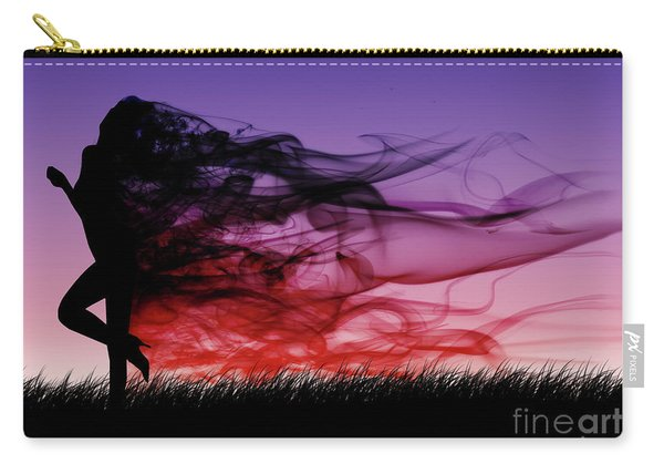 Frolicking Through The Meadow Carry-all Pouch