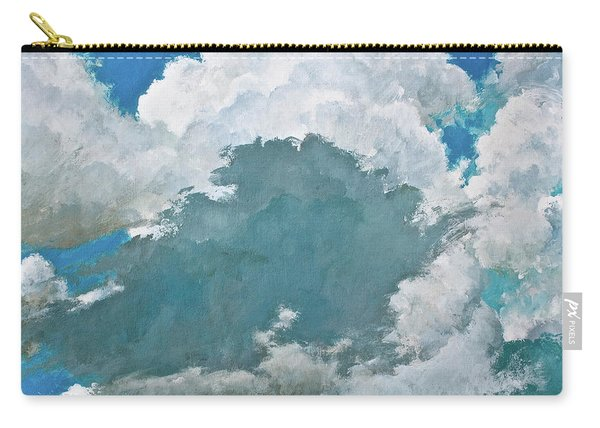 Carry-all Pouch featuring the painting From Both Sides Now by Cliff Spohn