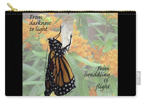 From Darkness To Light Carry-all Pouch