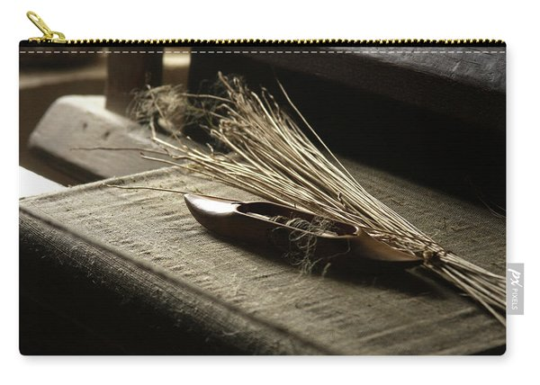 From Flax To Linen Carry-all Pouch