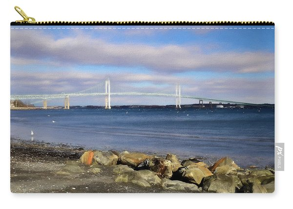 From The Shores Of Jamestown Carry-all Pouch