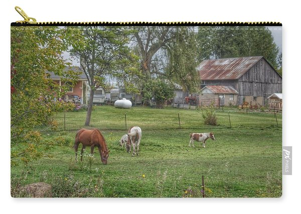 1008 - Front Yard Ponies Carry-all Pouch
