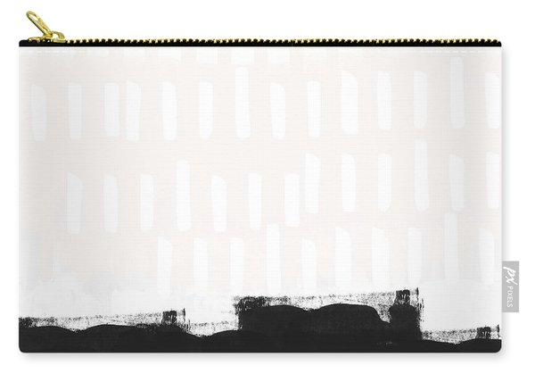 Frontier 25- Modern Abstract Art By Linda Woods Carry-all Pouch