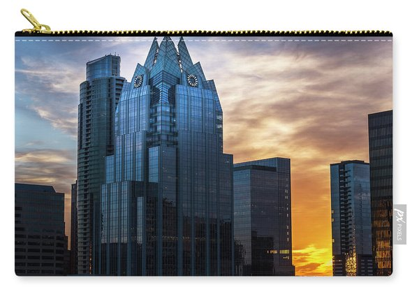 Frost Bank Tower Carry-all Pouch