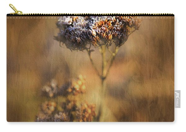 Frosted Bloom Carry-all Pouch