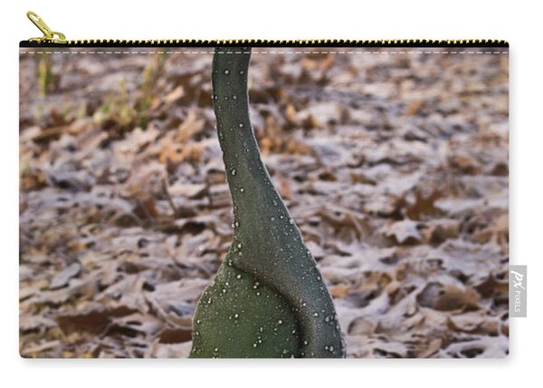 Frosted Goose Carry-all Pouch