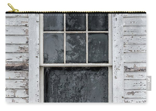 Frosted Window On An Old House Carry-all Pouch