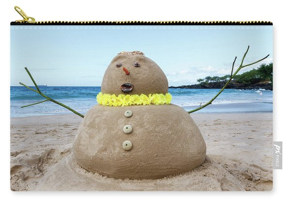Frosty The Sandman Carry-all Pouch
