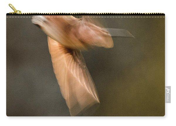 ...frozen Flight Hummingbird.... Carry-all Pouch