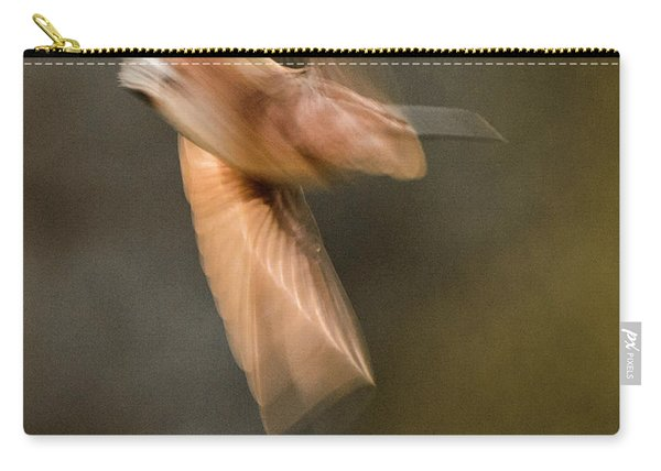 ...frozen Flight Hummingbird.... Carry-all Pouch