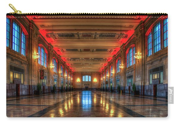 Frozen In Time Union Station Kansas City Missouri Train Art Carry-all Pouch