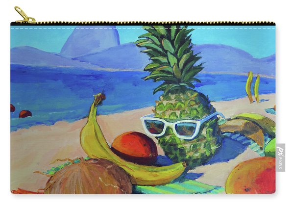 Fruit Of The Carioca Sol Carry-all Pouch