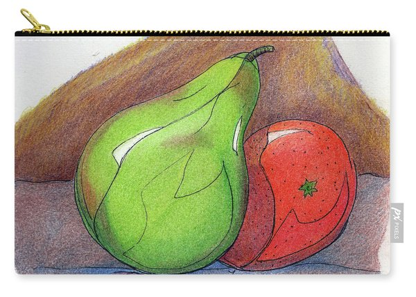 Carry-all Pouch featuring the painting Fruit Still 34 by Loretta Nash