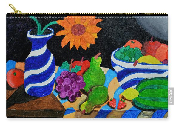 Fruitful Still Life Carry-all Pouch