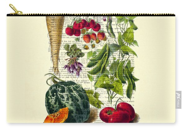 Fruits And Vegetables Kitchen Decoration Carry-all Pouch