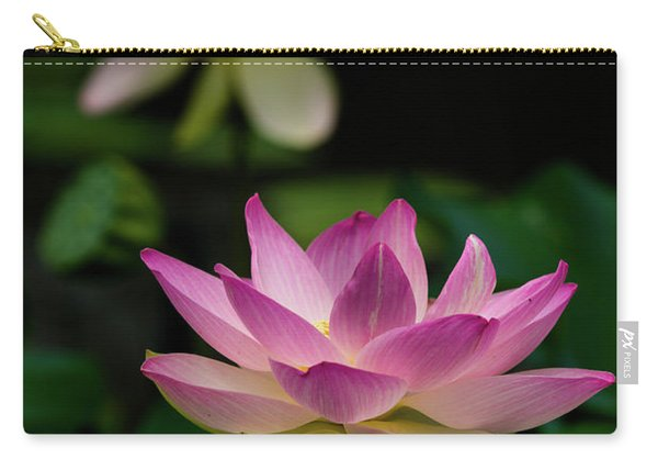 Full Blooming Dual Lotus Lilies Carry-all Pouch