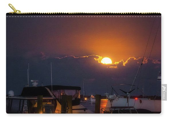 Full Moon At Titusville Carry-all Pouch
