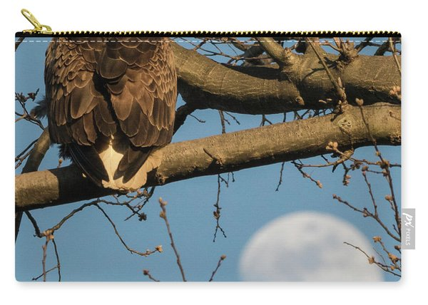 Full Moon Eagle  Carry-all Pouch