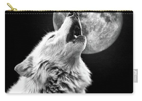 Full Moon Howl Carry-all Pouch