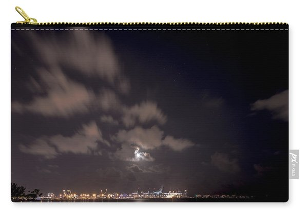 Full Moon In Miami Carry-all Pouch