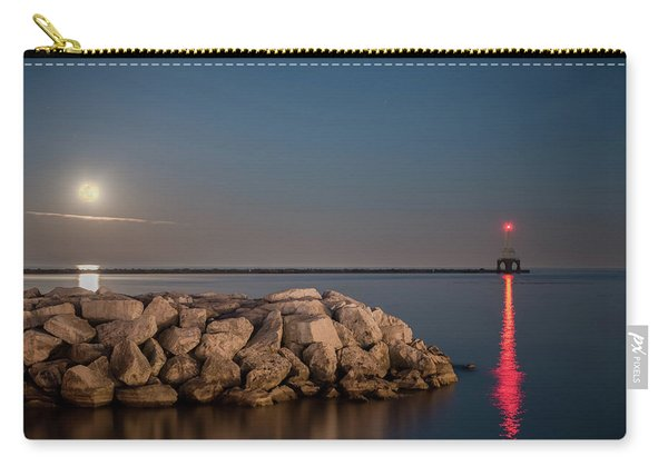 Full Moon In Port Carry-all Pouch