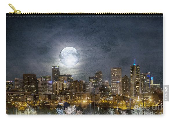 Full Moon Over Denver Carry-all Pouch