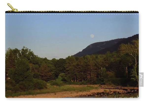 Full Moon Over Hunter West Carry-all Pouch