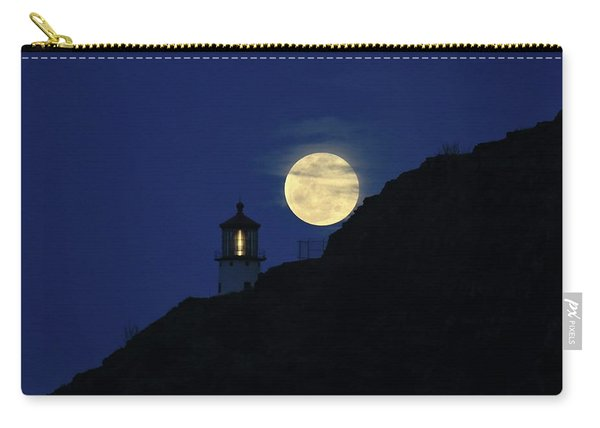 Full Moon Over Makapu'u Light Carry-all Pouch